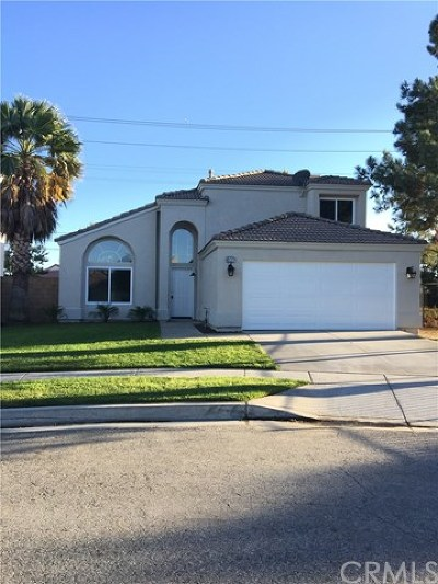 Rialto Single Family Home For Sale: 837 W Manzanita Street