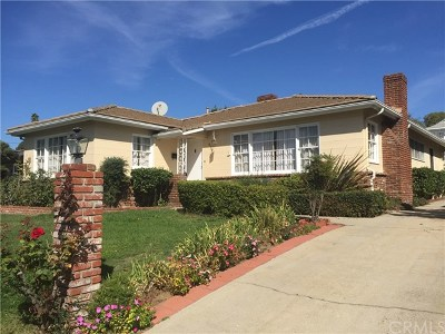San Gabriel Single Family Home For Sale: 8361 Leroy Street