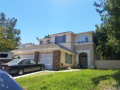 Rowland Heights Single Family Home For Sale: 18860 Whitney Pl