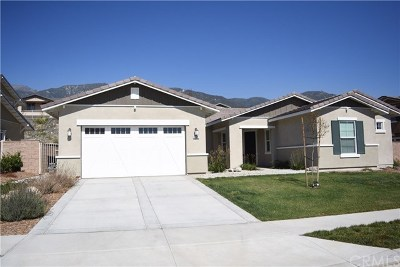 Rancho Cucamonga CA Single Family Home For Sale: $849,000
