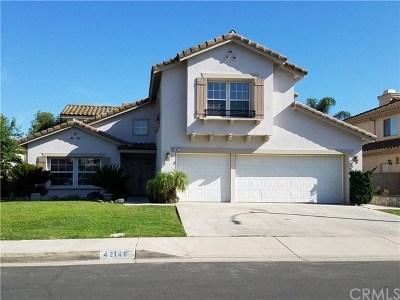 Murrieta CA Single Family Home For Sale: $449,500