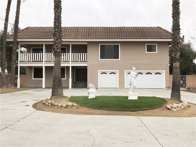 Perris Single Family Home Active Under Contract: 22113 Cajalco Road