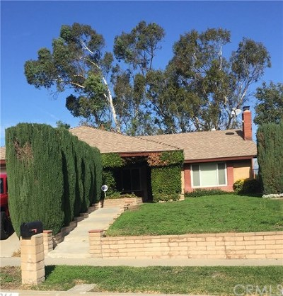 Chino Hills Single Family Home For Sale: 3344 Whirlaway Lane