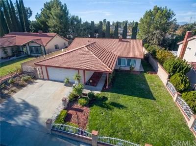 Diamond Bar Single Family Home For Sale: 1139 Cleghorn Drive