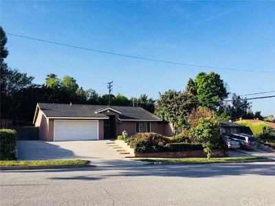 West Covina Single Family Home For Sale: 3034 E Valley View Avenue