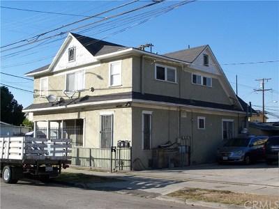 Long Beach Multi Family Home For Sale: 1125 E 17th Street