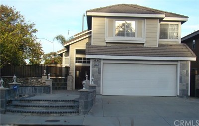 Chino Hills Single Family Home For Sale: 14403 Autumn Hill Lane