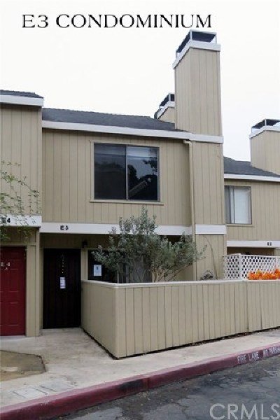 Atascadero Condo/Townhouse For Sale: 3750 El Camino Real #E3
