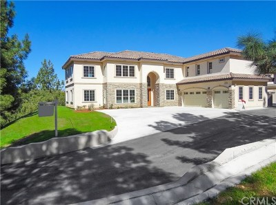 Chino Hills Single Family Home For Sale: 1883 Ginseng Lane