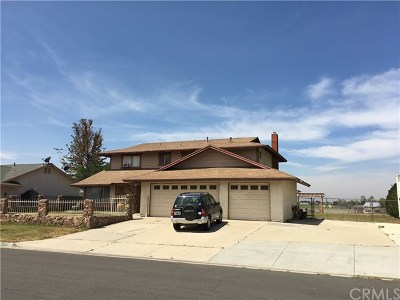 Jurupa Single Family Home For Sale: 5241 Sulphur Drive