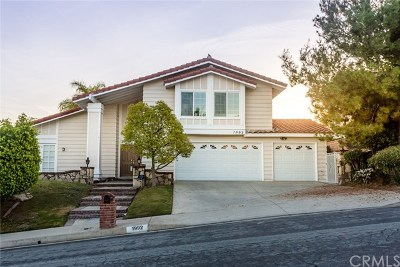 Rowland Heights Single Family Home For Sale: 1992 Rio Bonito Drive