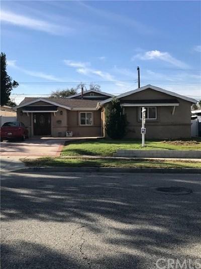 La Puente Single Family Home Active Under Contract: 627 Ruthcrest Avenue