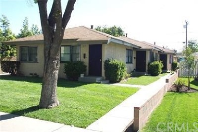 Chino Multi Family Home For Sale: 12931 9th Street