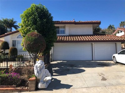 Rowland Heights Single Family Home For Sale: 17948 Scarecrow Place
