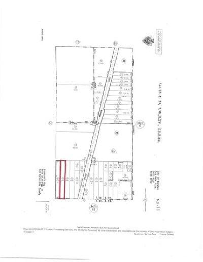 Barstow CA Residential Lots & Land For Sale: $799,999