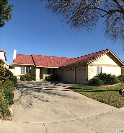Walnut Single Family Home For Sale: 21055 Glenbrook Drive