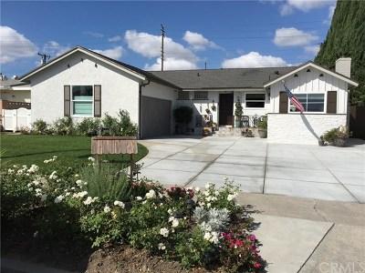 Garden Grove Single Family Home For Sale: 13791 Purdy Street