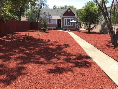 Single Family Home For Sale: 532 E F Street