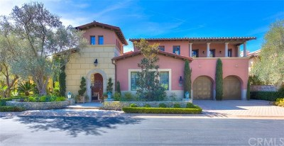 Newport Coast Single Family Home For Sale: 4 Via Giada