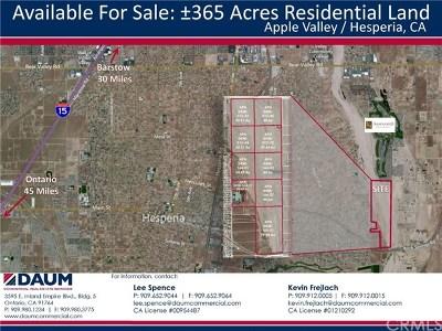 Hesperia Residential Lots & Land For Sale: Poppy