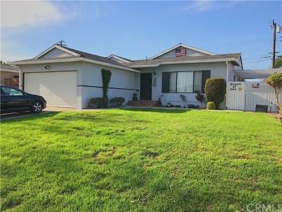 Whittier Single Family Home For Sale: 15235 Fernview Street