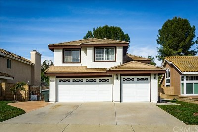 Chino Hills Single Family Home For Sale: 3062 Sunny Brook Lane
