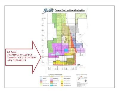 Adelanto Residential Lots & Land For Sale: Trinidad Cactus 2.5 Ac