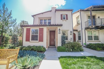 Lake Forest Condo/Townhouse For Sale: 92 Agave