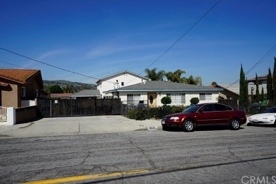 Rowland Heights Multi Family Home For Sale: 2531 Batson Avenue