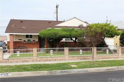 Downey Single Family Home For Sale: 9409 True Avenue