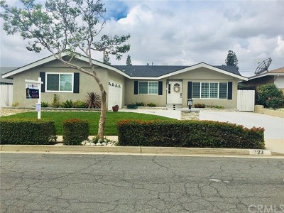 San Dimas Single Family Home Active Under Contract: 723 Belleview Avenue