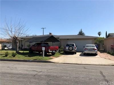 Rialto Single Family Home For Sale: 395 E Jackson Street