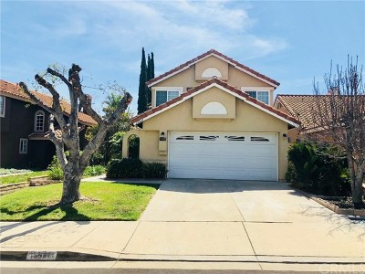 Chino Hills Single Family Home For Sale: 15531 Oakhurst Street