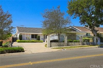 La Mirada Single Family Home For Sale: 11933 Stamy Road