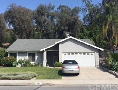 Walnut Single Family Home For Sale: 361 Acaso Drive