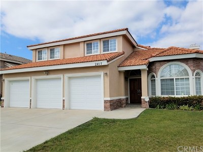 Rowland Heights Single Family Home For Sale: 2417 Doubletree Lane