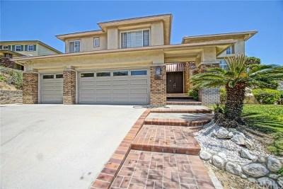 Diamond Bar Single Family Home For Sale: 20567 Crestline Drive