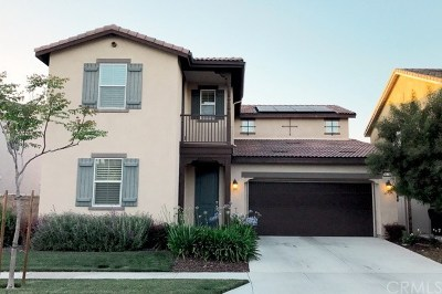 Chino Single Family Home For Sale: 6176 Millsaps Street