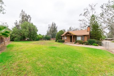 Norco Single Family Home For Sale: 2594 Hillside Avenue