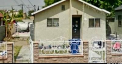 Los Angeles Multi Family Home For Sale: 4311 Honduras Street