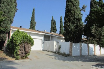 Rowland Heights Single Family Home For Sale: 18454 Santar Street