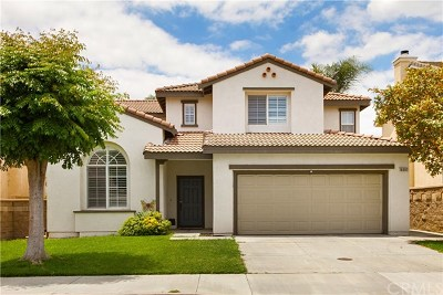 Chino Hills Single Family Home For Sale: 16092 Tamarind