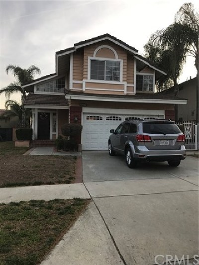 Rancho Cucamonga Single Family Home For Sale: 10739 Champagne Road