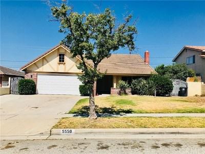 Single Family Home For Sale: 5550 N D Street