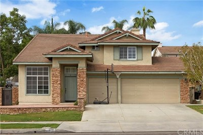 Chino Hills Single Family Home For Sale: 14772 Foxwood Road