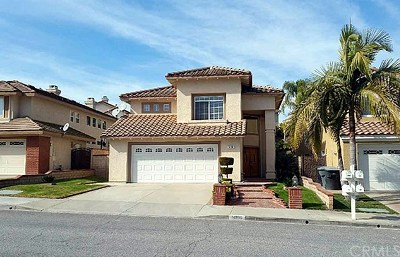 Chino Hills Single Family Home For Sale: 14186 Deerbrook Lane