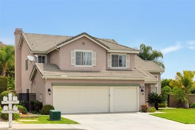 Chino Hills Single Family Home For Sale: 1421 Rancho Hills Drive