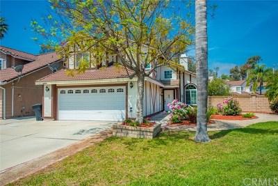 Chino Hills Single Family Home For Sale: 3084 Sunnyglen Court