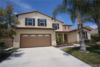 Eastvale Single Family Home For Sale: 13520 Hidden Valley Street