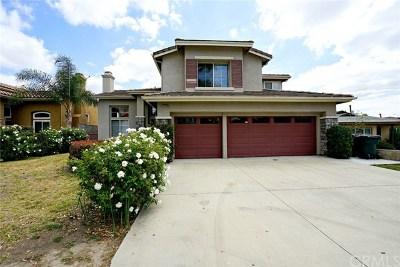 Chino Hills Single Family Home For Sale: 15639 Yorba Avenue